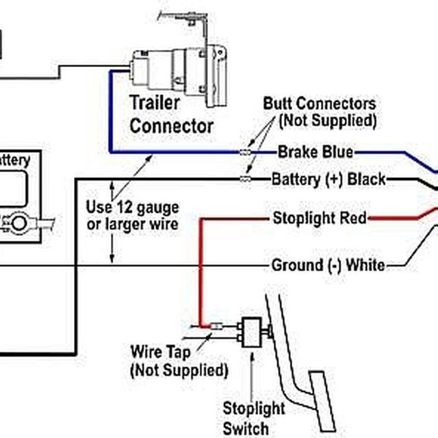 how to install an electric brake controller  trailer wiring