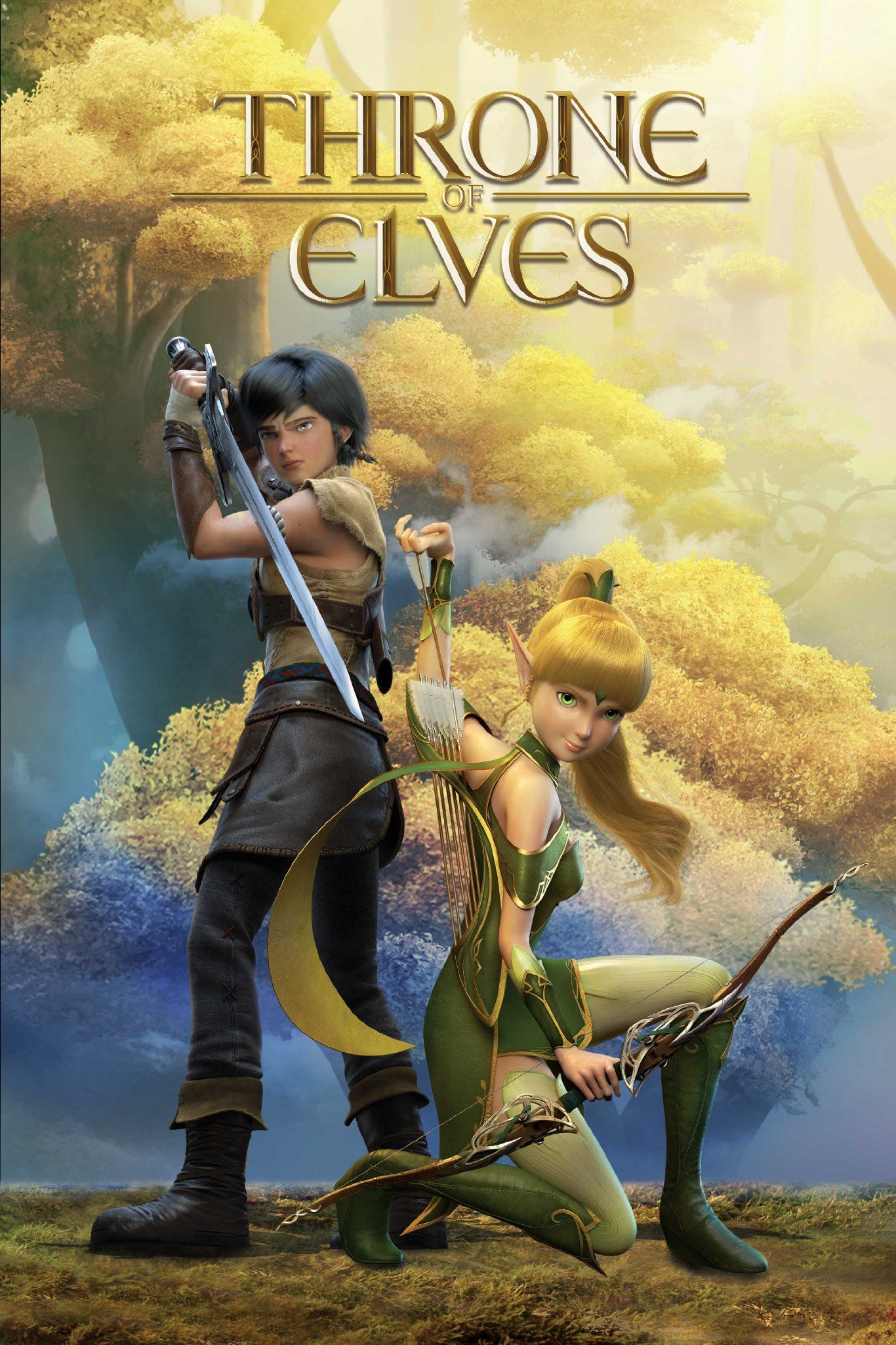 Image result for Throne of Elves movie posters anime