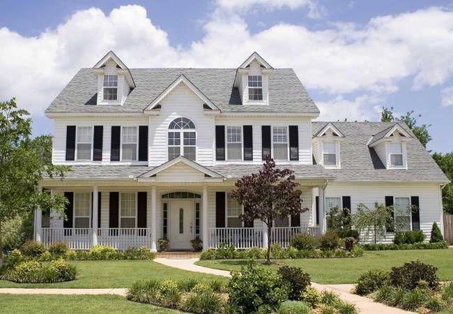 Vistosas Imagenes De Casas Grandes Y Bonitas Dream House House American Houses