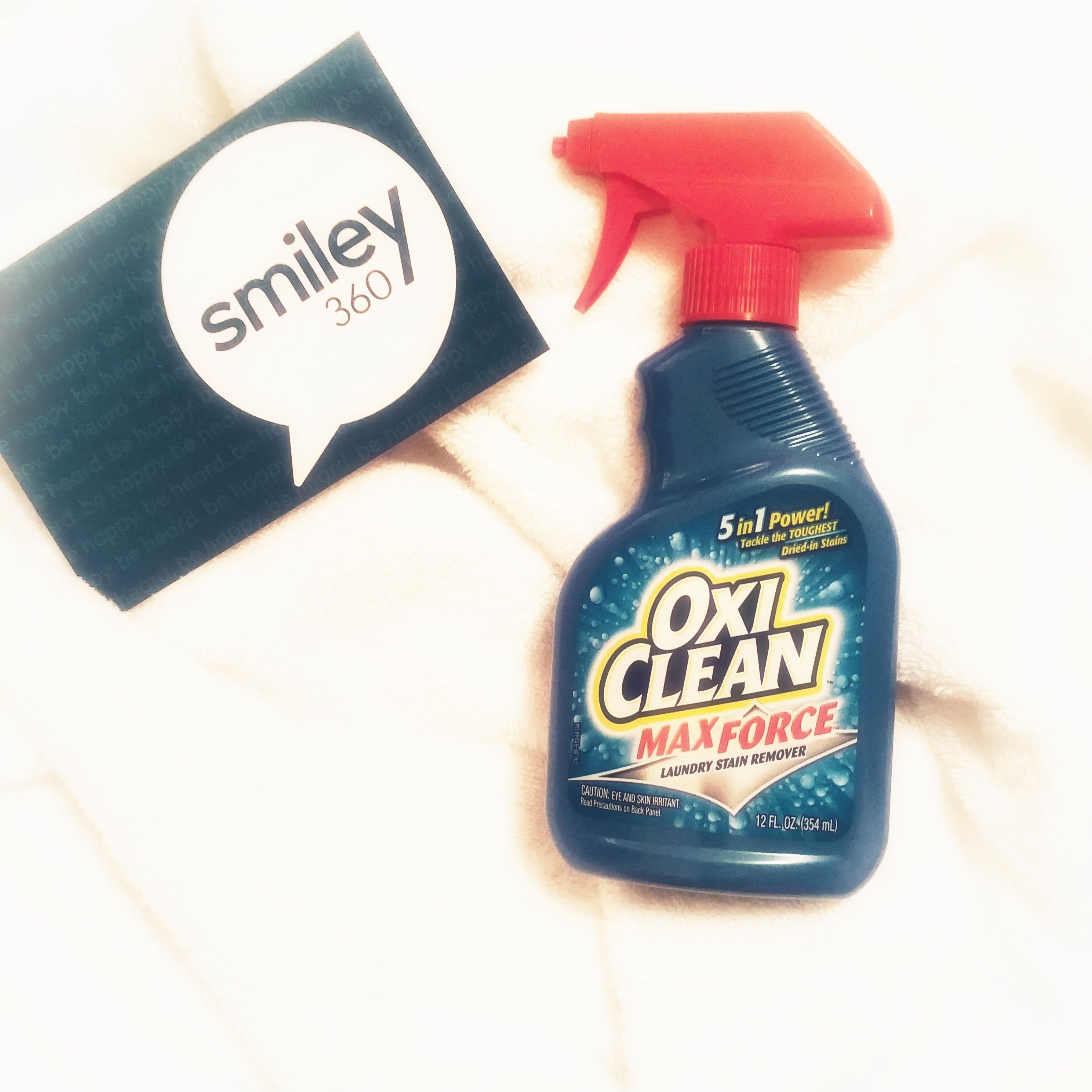 Oxyclean Maxforce Received This Product From Smiley360 To Sample