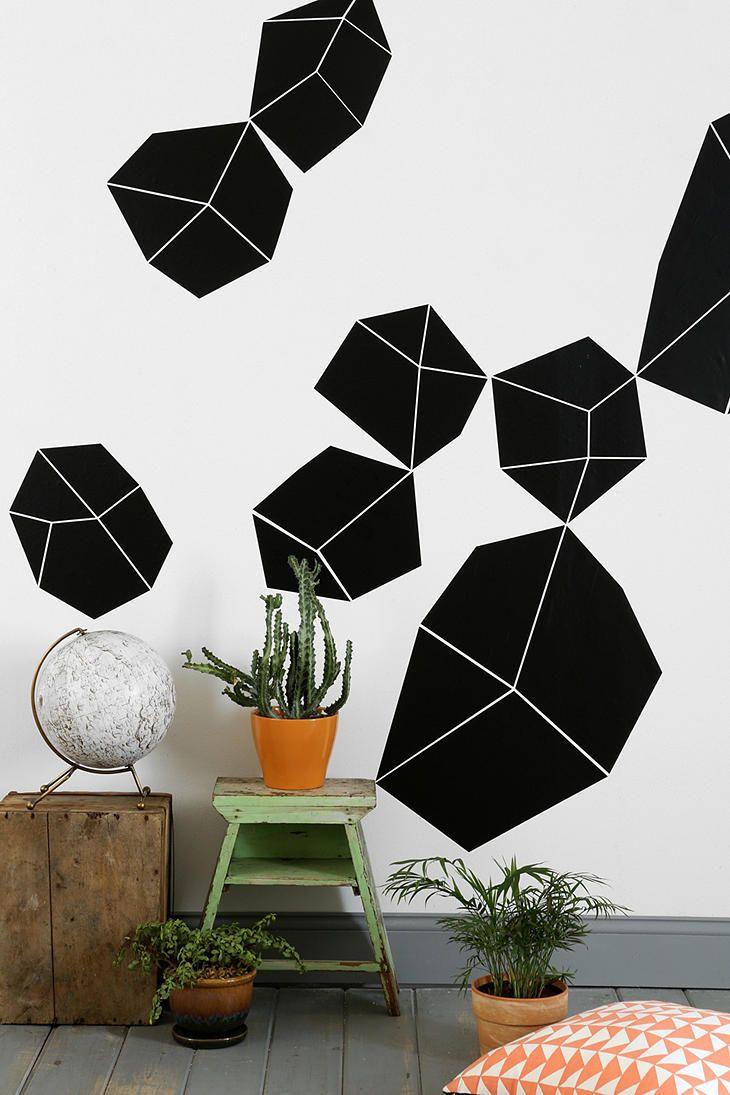 Crystal wall decal cool wall decor