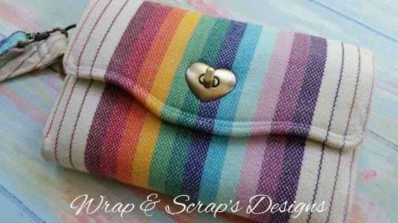 Woven Wrap Scrap Wallet - DEPOSIT for Custom Wallet Slot