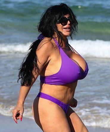 Big beach bikini