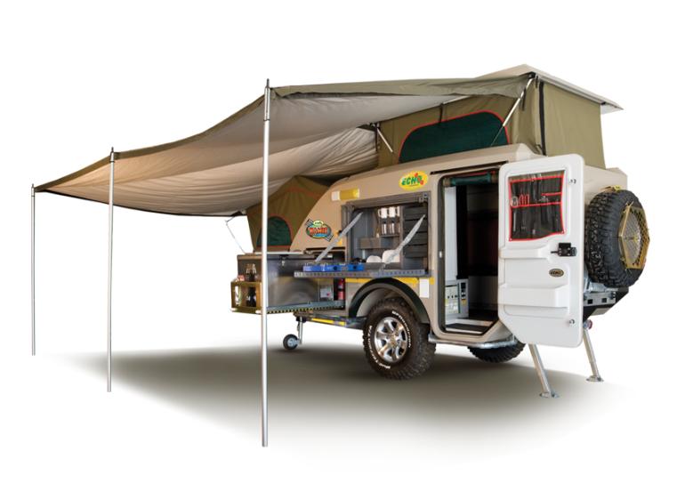 Namib 4x4 Caravan Off Road Caravans Echo 4x4 Jeep Camping Jeep Trailer Tent Trailer