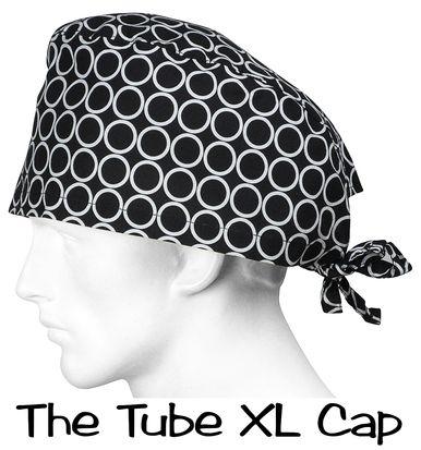 Scrub XLarge Hats The Tube surgicalcaps.com