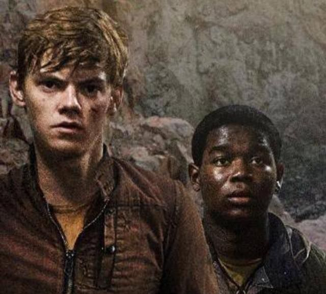 The Scorch Trials----Newt is making it a little hard to breathe oh my goodness