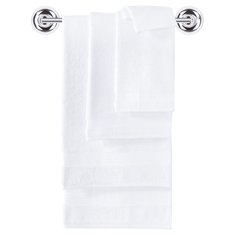 Breezy Point Apartments In Memphis Tennessee: Turkish Bath Towel Set White 6pc