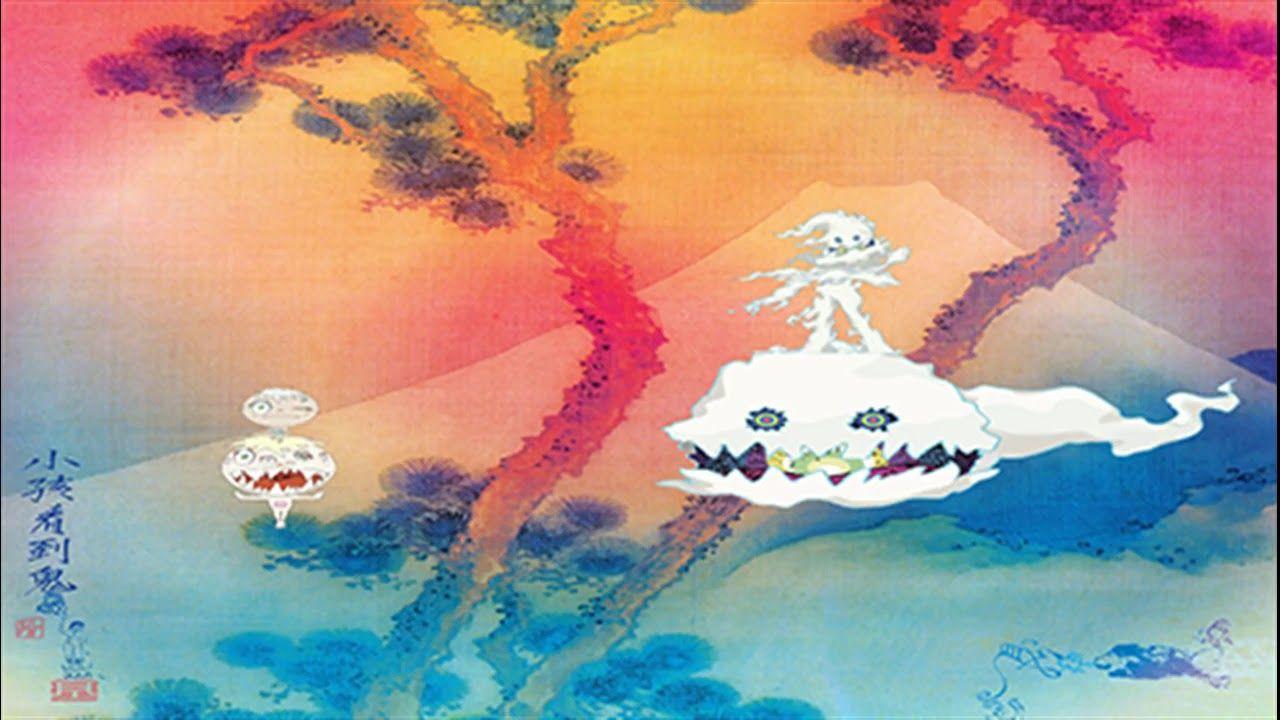 Kanye West Kid Cudi Freeee Ghost Town Pt 2 Kids See Ghosts Ghost Album Kanye West Kids Cool Album Covers