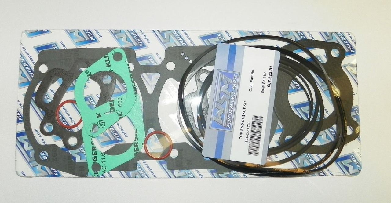 WSM Seadoo 720 Top End Gasket Kit 007-623-01 | Seadoo Watercraft