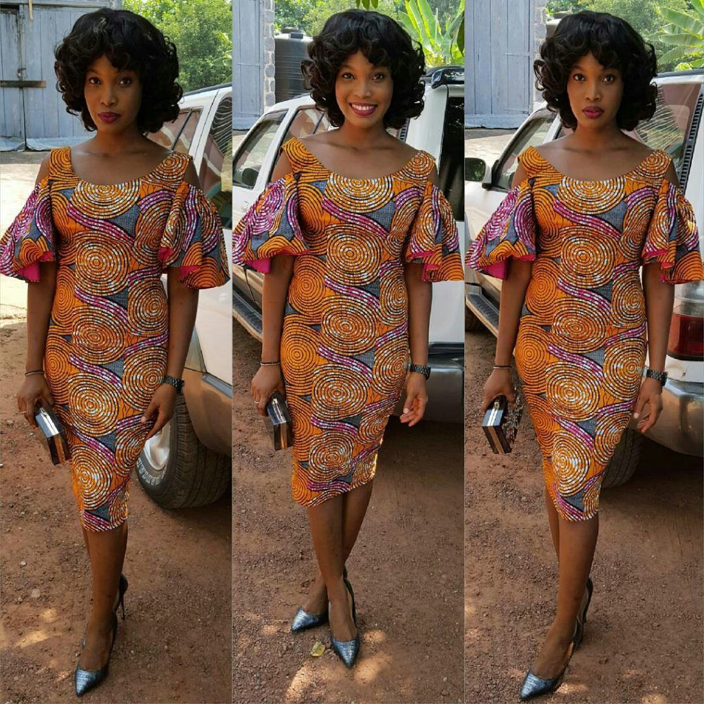 ANKARA + JEANS FASHION | Trendy collection, Ankara styles and Ankara