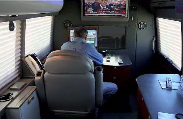 Land jet mobile office vans 21240 protecta drive - Commercial van interiors locations ...