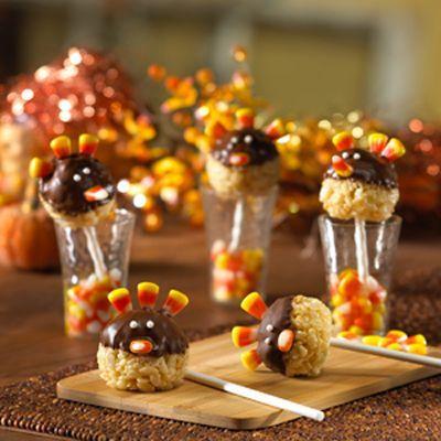 Rice Crispy Turkey - Pinterest Failmaybe not Holiday
