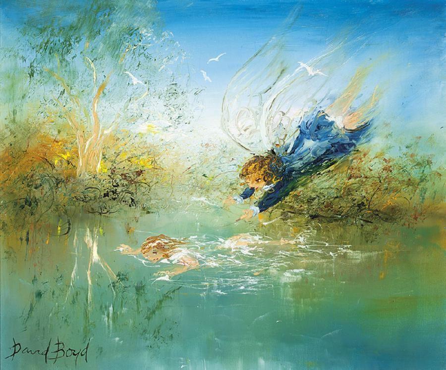David boyd painting australian art artist painting