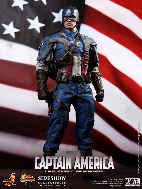Figura Capitan America The First Avenger 30cm Hot Toys Ultima Unidad Captain America Marvel Captain America Captain