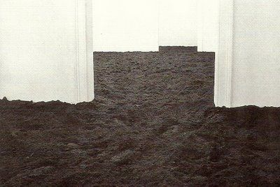 walter de maria / The New York Earth Room, 1977 This installation still exists - free and open to the public in Soho