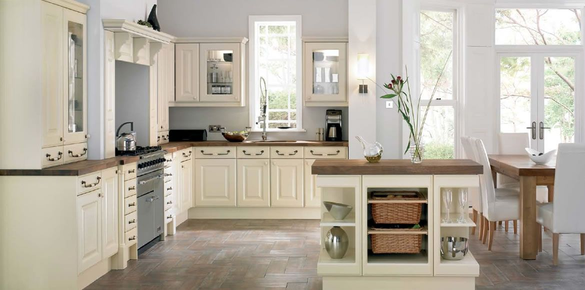 Timeless Kitchen Design Ideas Part - 16: New England From Complete Kitchen Collection By Mereway Kitchens Available  At West London Kitchen Design