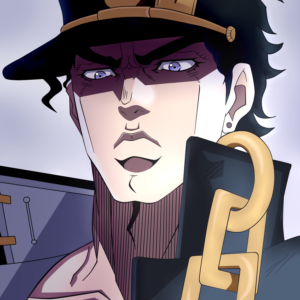 [Fanart] Jotaro in the artstyle of first season