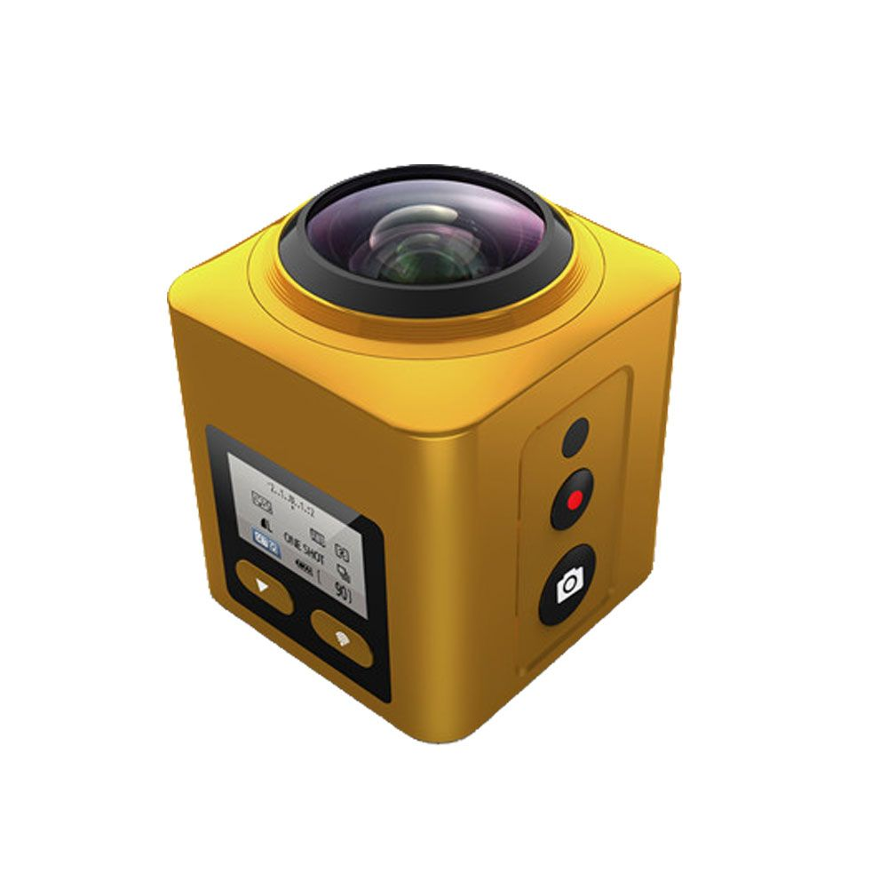 New Arrival 360 Degree camera 4K 30FPS Ultra HD Panoramic