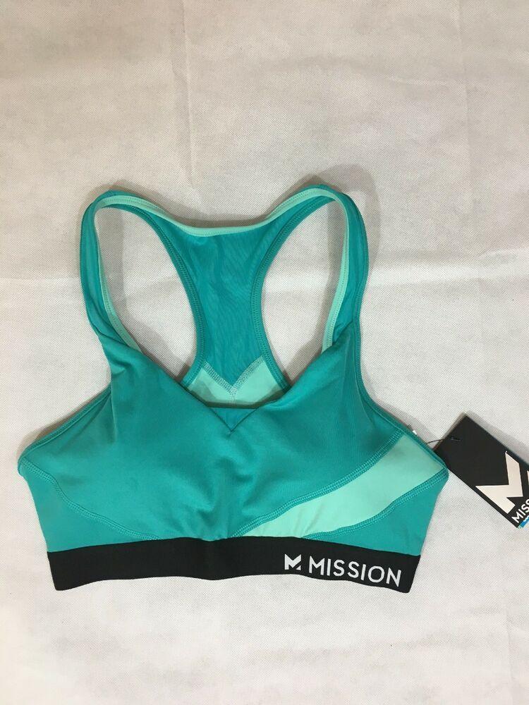 Mission Women's VaporActive Temper Racerback Medium Impact