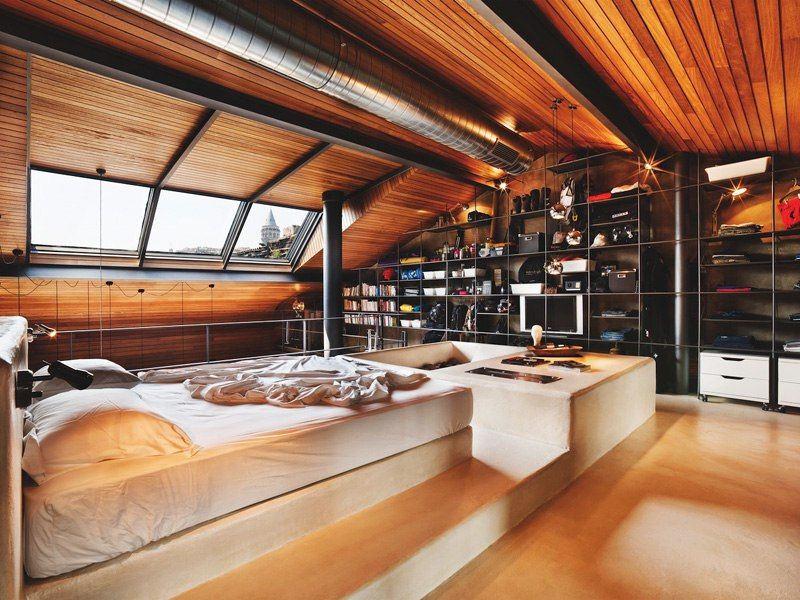 Top 10 Charming Apartments Decorated in Industrial Style | Loft ...