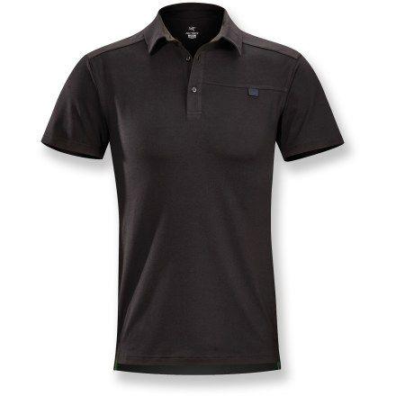 Arc'teryx Captive Polo Shirt - Men's | REI Co-op | Shirts, Mens ...