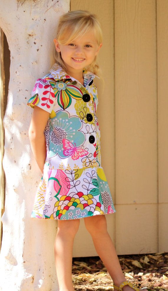 bfe2710d0f16 Ashleigh Dress Pattern size 1-6 years