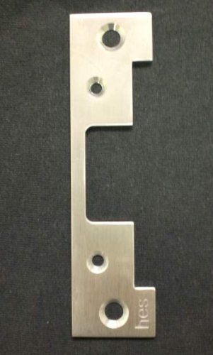 "HANCHETT ENTRY HES 501-630 FACE PLATE 501-630 by HANCHETT ENTRY HES. $12.00. 5000 Series 4-7/8"" x 1-1/4"" Faceplate, Satin Stainless Finish"