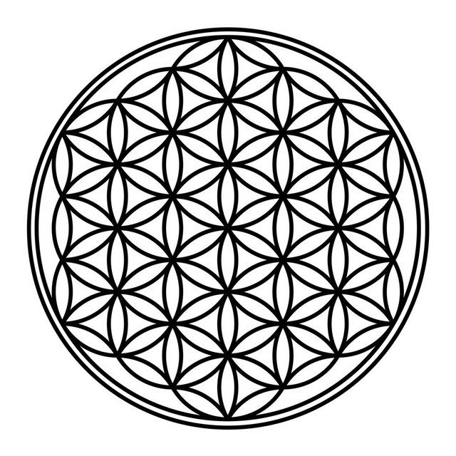 Buy Worlds of Images Wall Decal »Flower of Life« OTTO