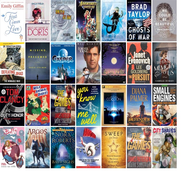 """Wednesday, July 13, 2016: The Bulverde/Spring Branch Library has seven new bestsellers, ten new videos, one new audiobook, six new children's books, and 41 other new books.   The new titles this week include """"First Comes Love: A Novel,"""" """"Hello, My Name Is Doris,"""" and """"United as One."""""""