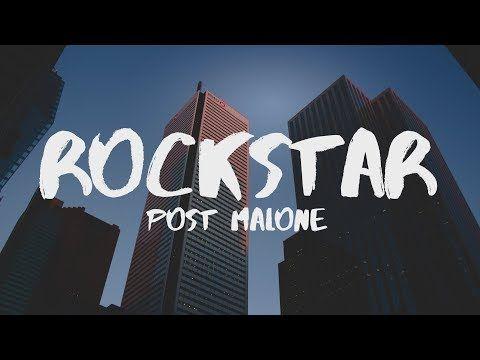 Post Malone Rockstar 2018 Remix Youtube Post Malone Post Malone Lyrics Music Songs