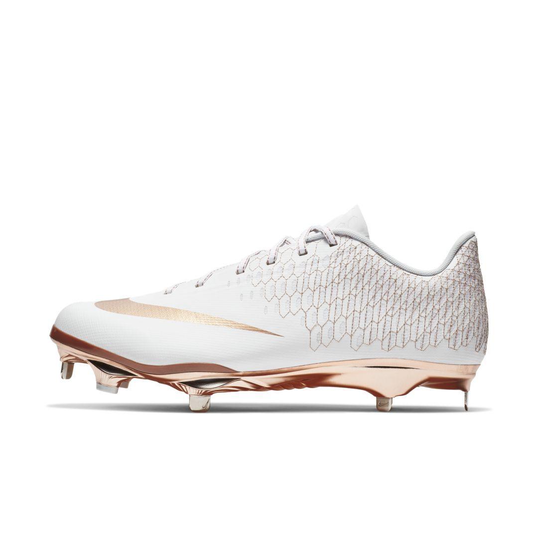 112e00a57e86 Nike Lunar Vapor Ultrafly Elite 2 Men's Baseball Cleat Size 11.5 (White)