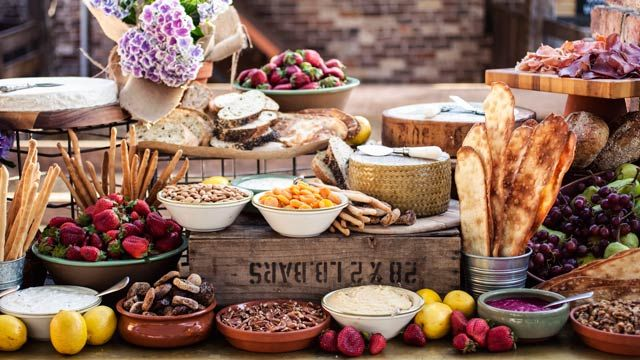 Like A Sweets Buffet An Antipasto Grazing Table Allows