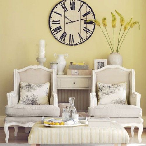 Big clocks for decoration = <3 | Large Wall Clock Decor | Pinterest ...