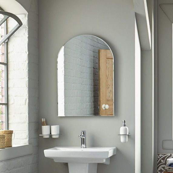 Watertec Arched Bathroom Mirror