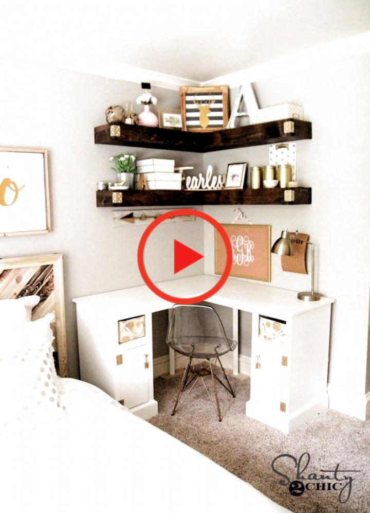 Small Master Bedroom Idea Pinterest Best Of Diy Corner Desk Bedroom Decor Easy Videos Bedroom Ideas Pinterest Small Master Bedroom Diy Corner Desk