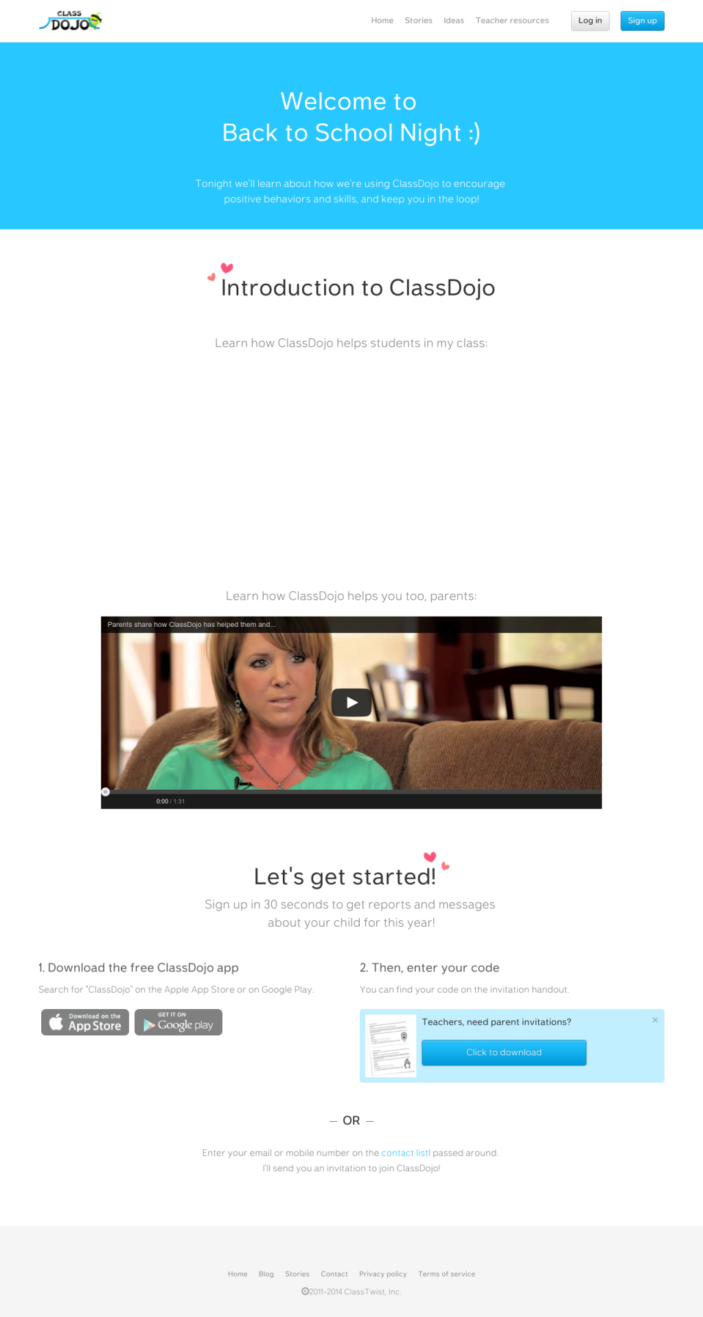 Snapito Full Page Screenshot API Class dojo, Back to