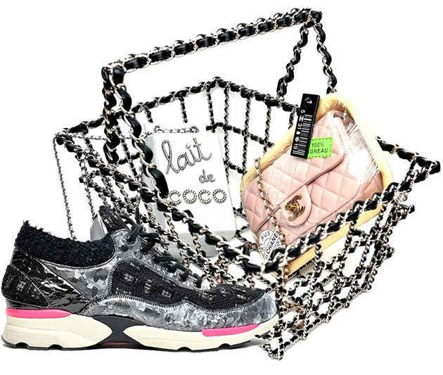 Chanel Shoes and Handbags Fall/Winter 2014-2015  #bags #sneakers
