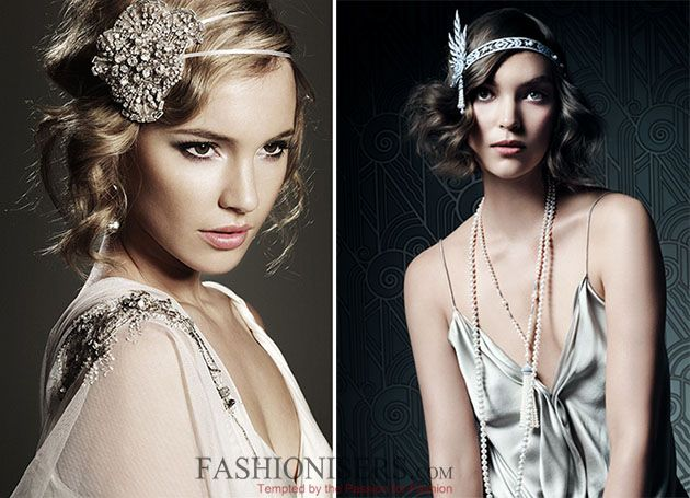The Great Gatsby Inspired Faux Bob Tutorial 20s Pinterest