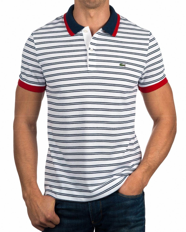 63262c94a7b5e Polo Lacoste Sport Rojo - Polyes   Listras