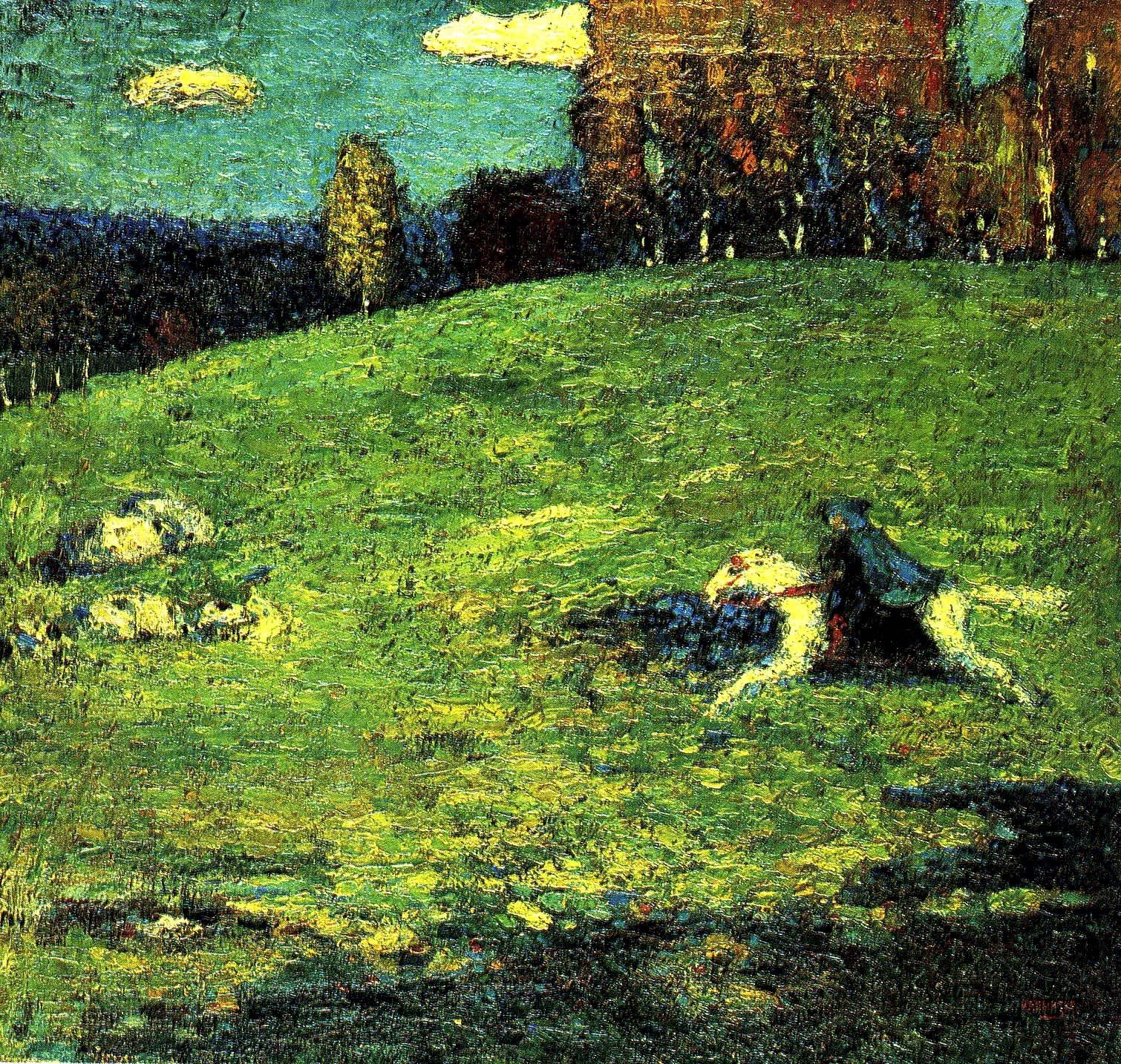 Kandinsky The Blue Rider 1903 Wassily Kandinsky Kandinsky Art Kandinsky