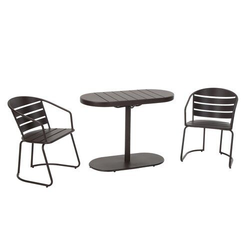 Turn On The Brights Courtois 3 Piece Bistro Set Reviews