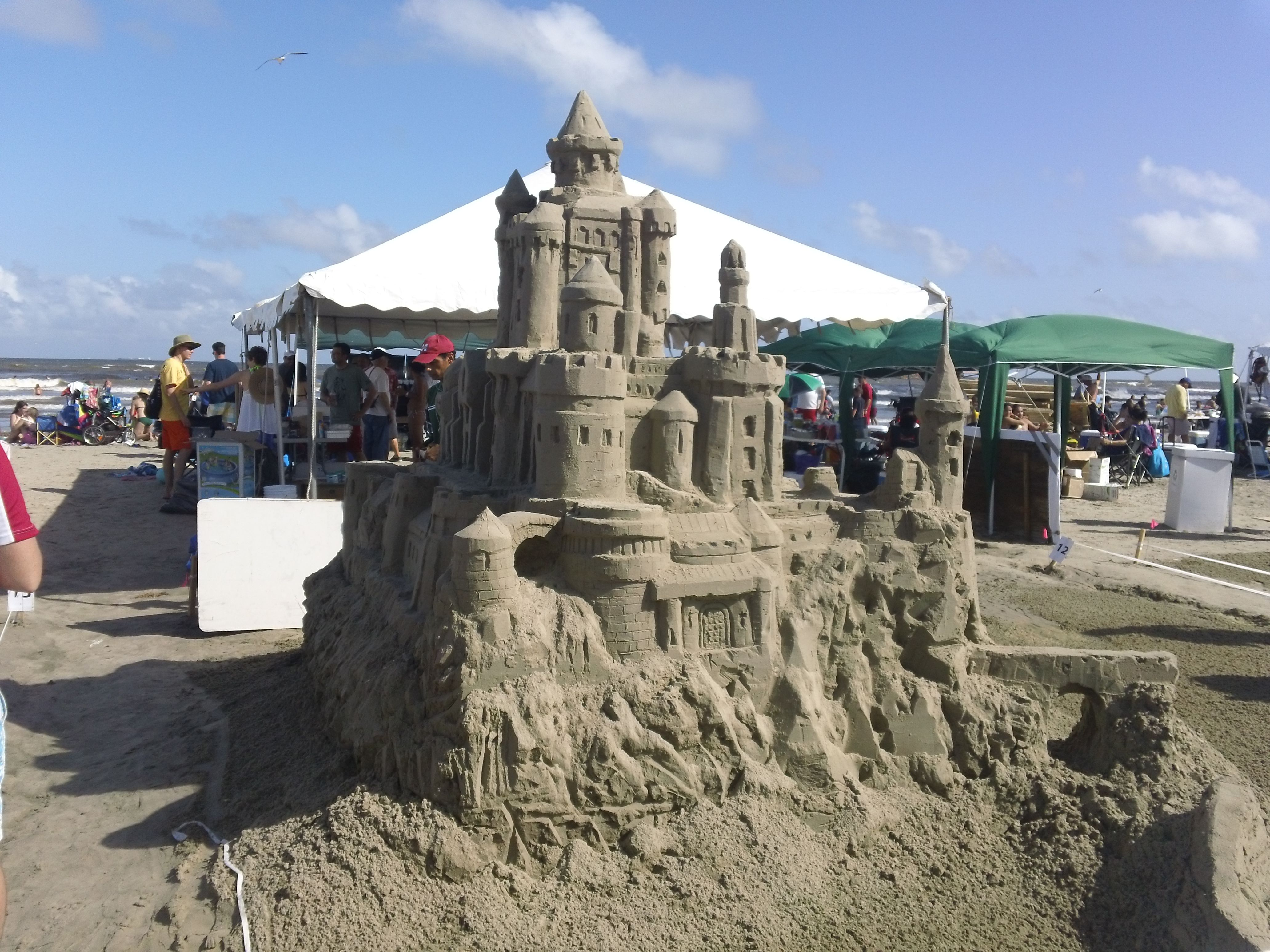 Sandcastle Competition Galveston Texas Galveston