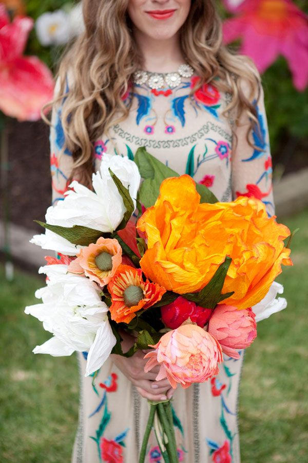 Oh My Drifter   A Giant Flower Wedding - Oh My Drifter   Crafts ...