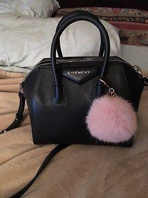 Givenchy Antigona Mini Black Pebble Leather  7132418da99a5