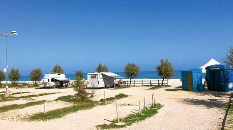 Stellplatz-Tipp Italien: Am Strand der Abruzzen #essentialsforcamping