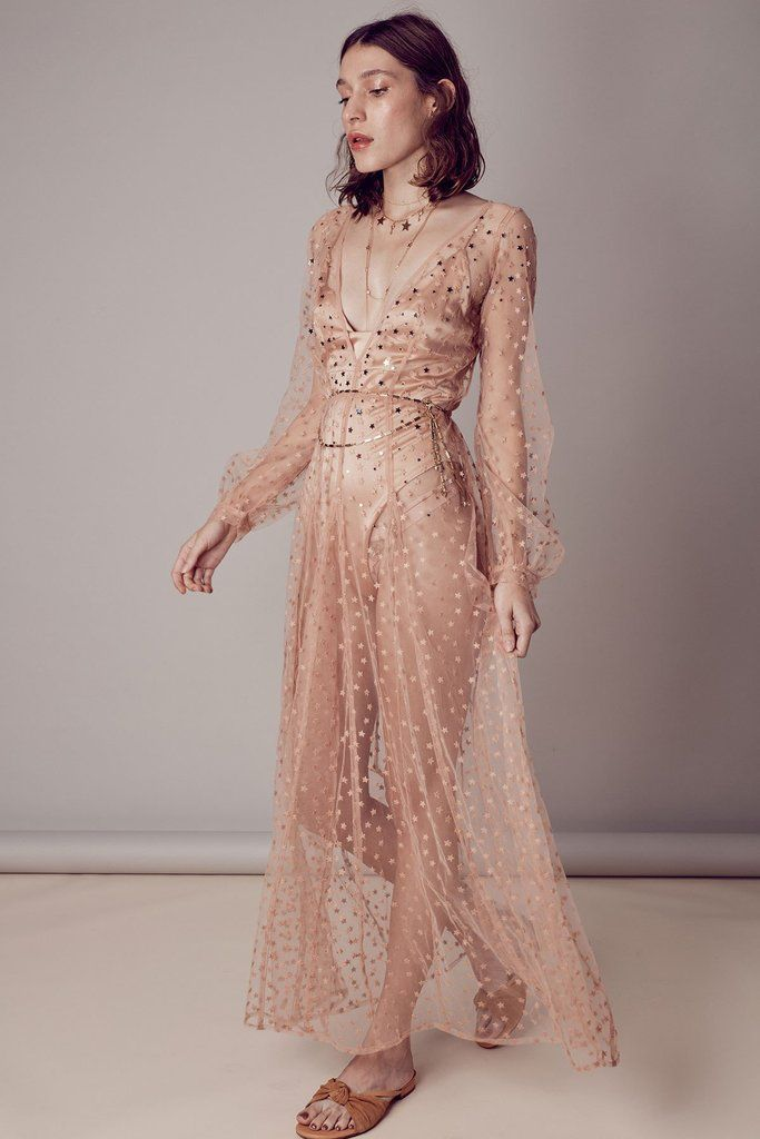 b8b48cc08fd0 All That Glitters Maxi by For Love and Lemons - RENTAL | HOLIDAY 18 ...