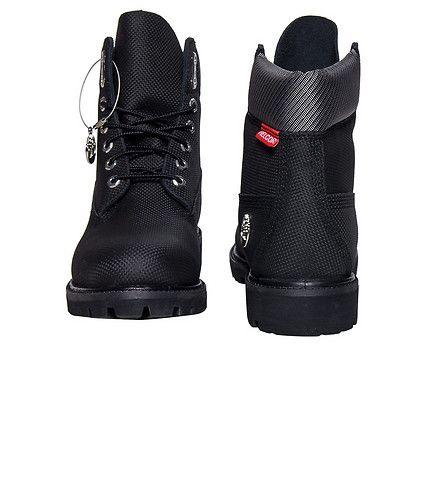 mens 6 inch premium timberland boots black