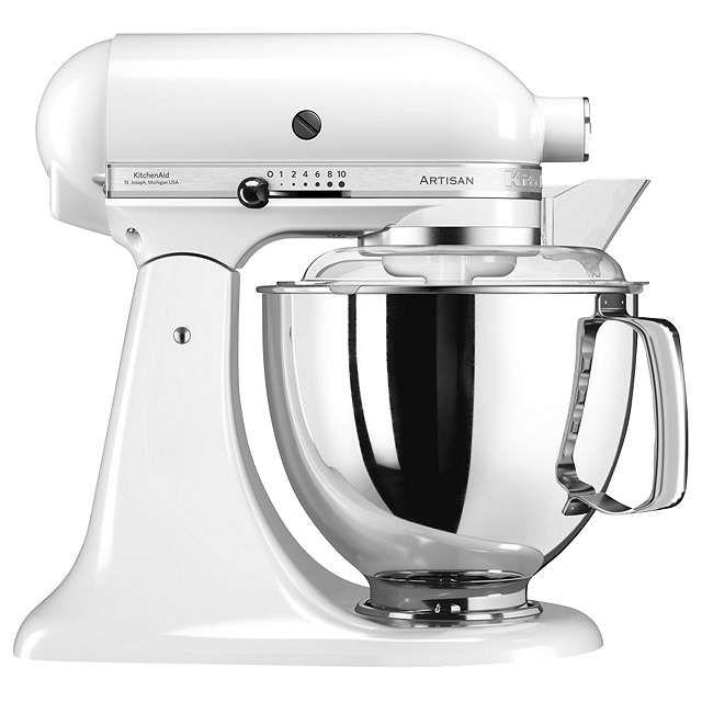 Kitchenaid 175 4 8l Stand Mixer White Online At Johnlewis