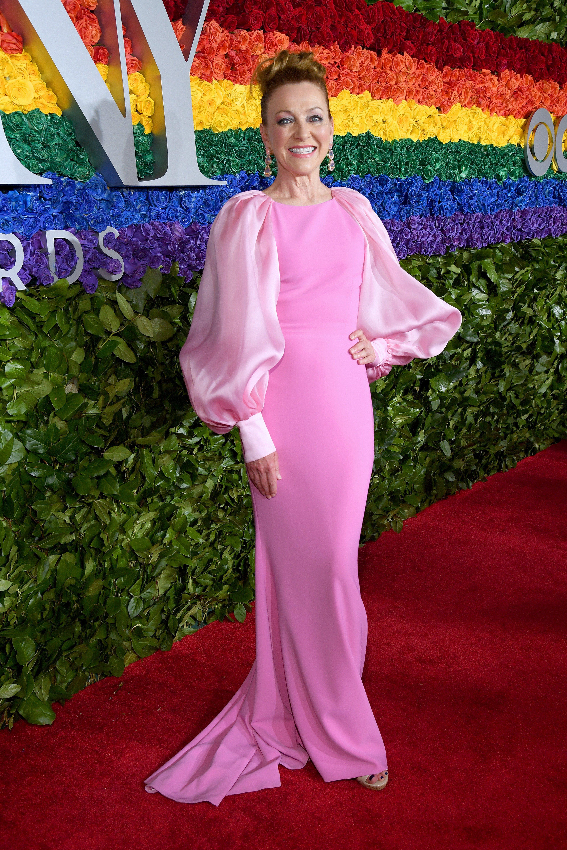 See The Ferryman Star Laura Donnelly S Thrilling Tony Awards Transformation Celebrity Dresses Tony Awards Fashion