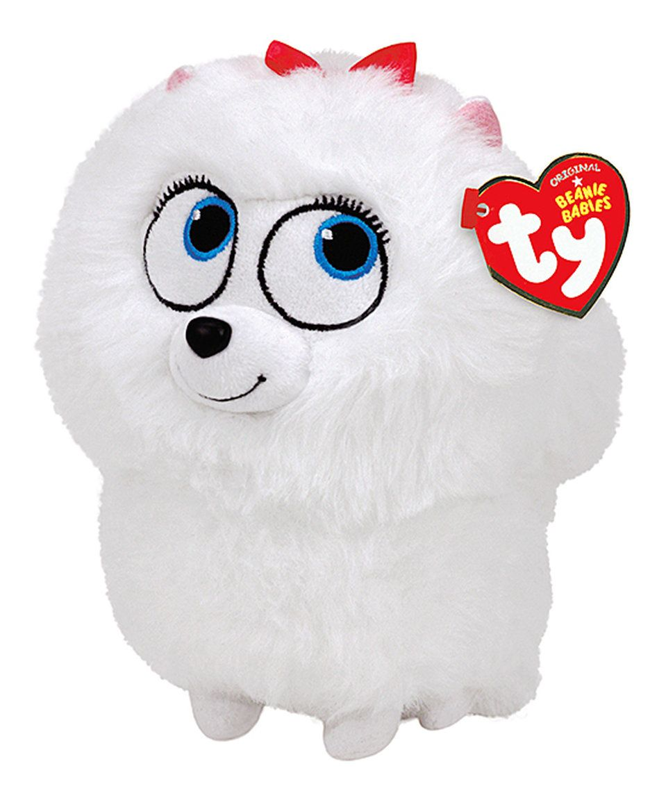 Take A Look At This The Secret Life Of Pets 8 Gidget Plush Toy Today Secret Life Of Pets Gidget Dog Baby Beanie